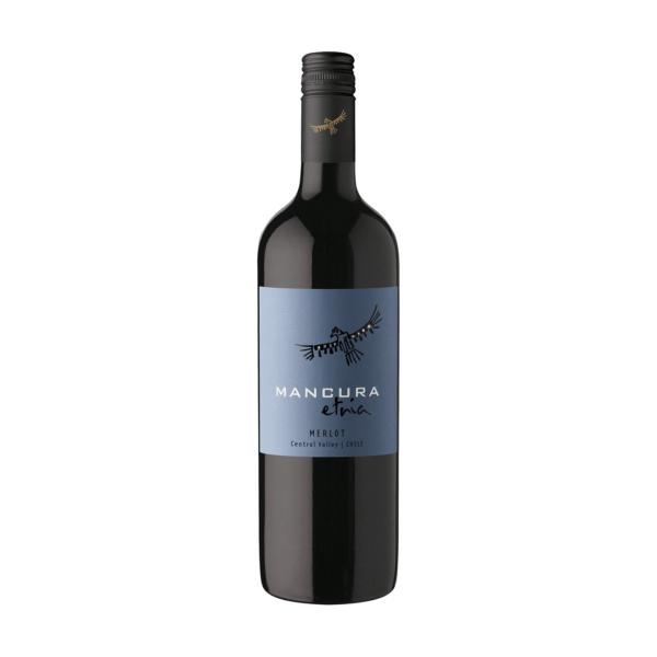 rượu vang Mancura Etnia Merlot