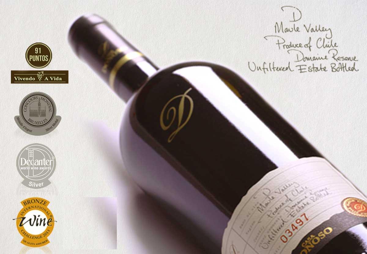 Rượu vang Casa Donoso D