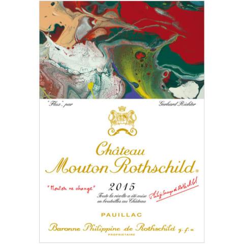 Vang Chateau mouton rothschild niên vụ 2015