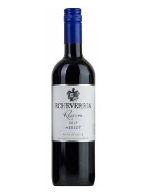 rượu vang Echeverria Merlot Reserva