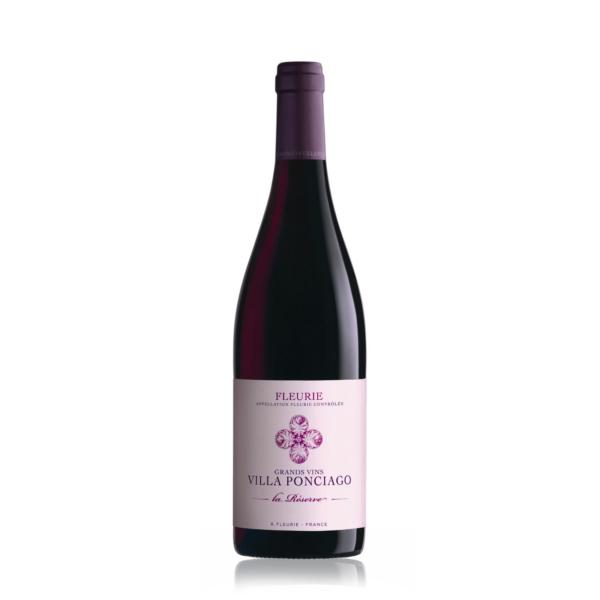 rượu vang Villa Ponciago Fleurie La Reserve