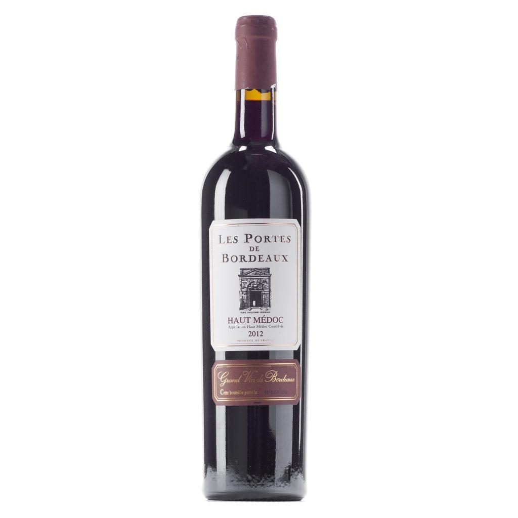 rượu vang Les Portes de Bordeaux 2015
