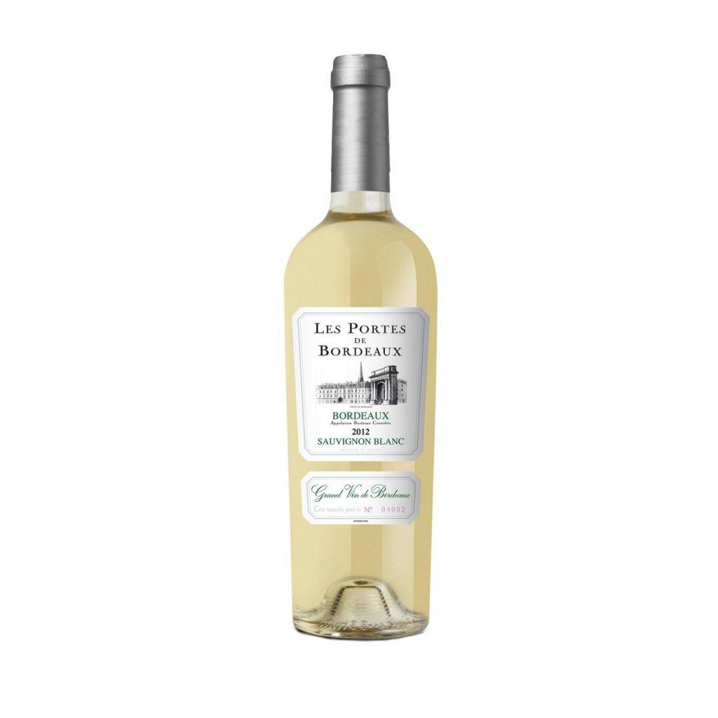 rượu vang Les Portes de Bordeaux Sauvignon Blanc 2015