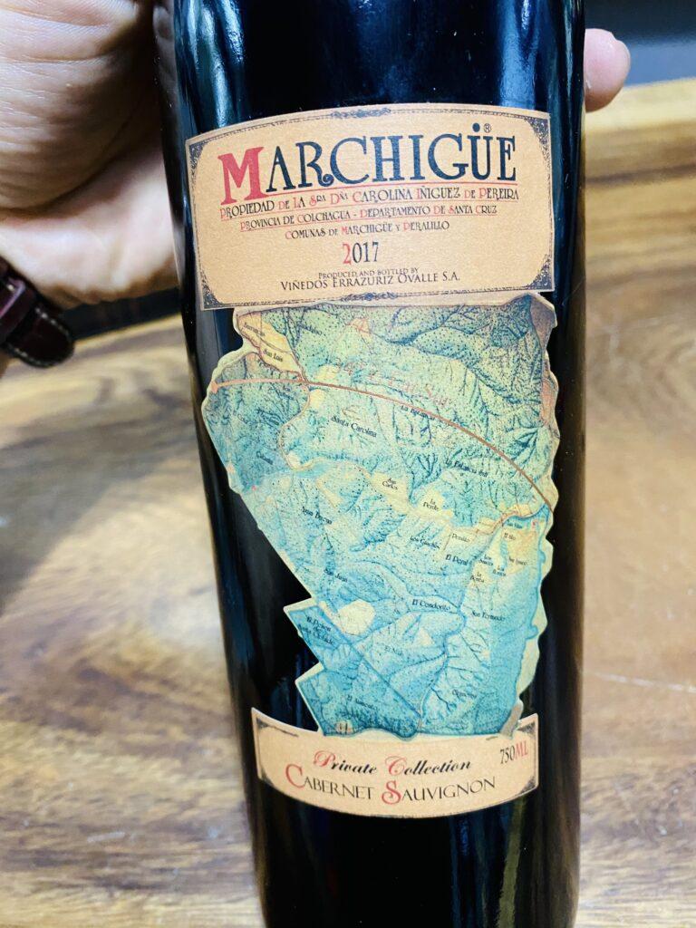 Vang Marchigue Cabernet Sauvignon
