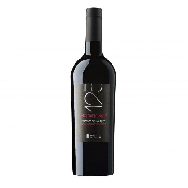 Rượu vang 125 Primitivo Del Salento 14%vol