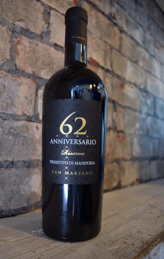 62 Anniversario Primitivo Di Manduria