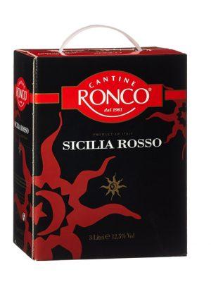 Vang đỏ Ronco Sicilia Rosso bịch 3L