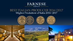 Nhà máy rượu vang Ý Farnese với vô số giải thưởng danh giá