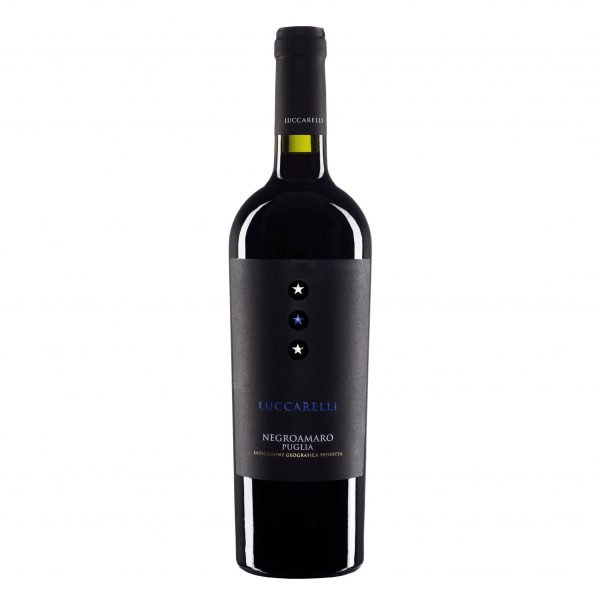 Rượu vang Luccarelli Negroamaro Puglia
