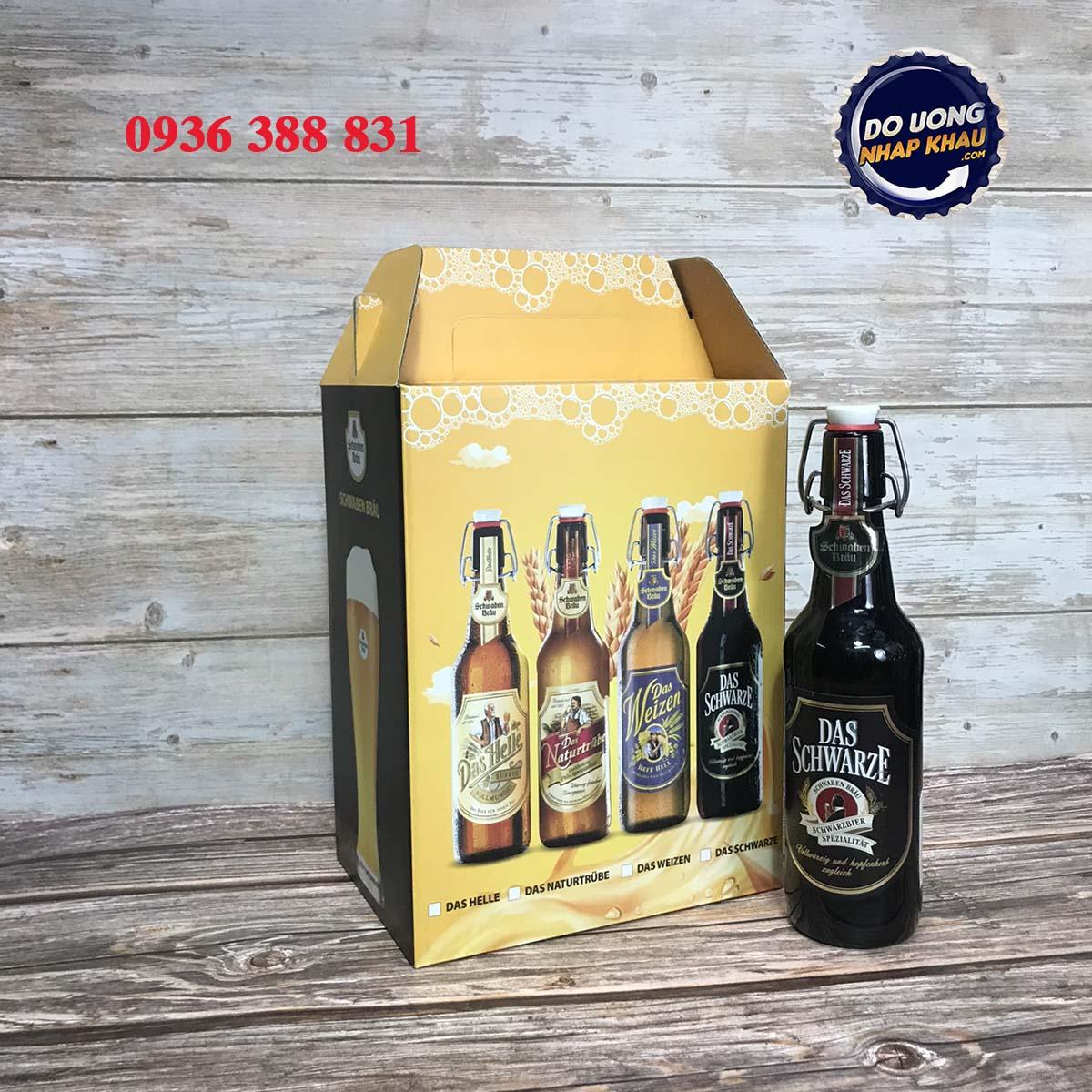 Hộp quà bia Schwaben Đức