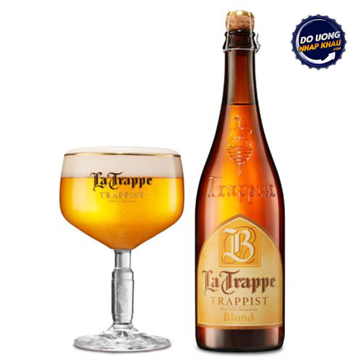 Bia La Trappe Trappist Blond 6% Hà Lan