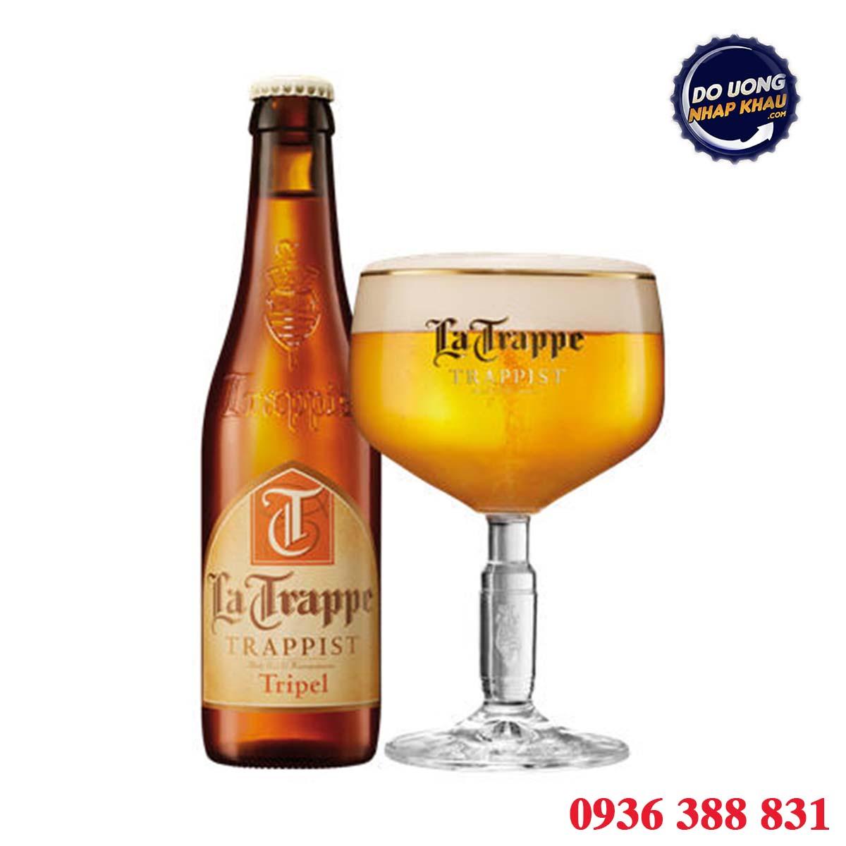Bia La Trappe Trappist Tripel 8% Hà Lan