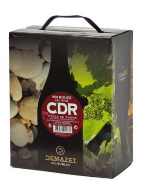Vang Demazet Cotes Du Rhone bịch 3L