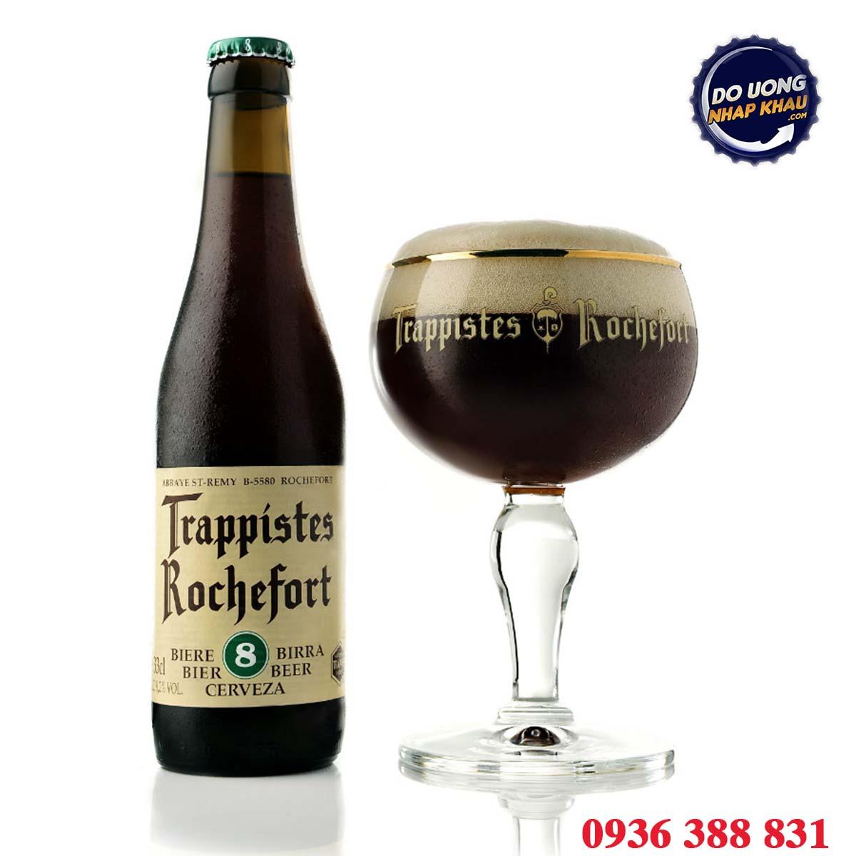 Bia Trappist Rochefort 8 Bỉ 9,2%