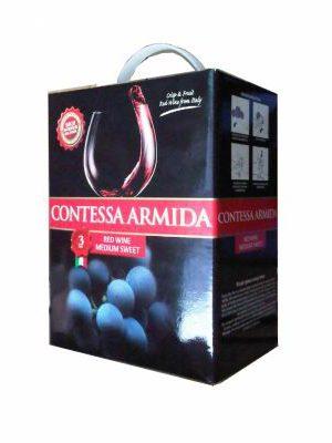 Vang ngọt Contessa Armida bịch 3l