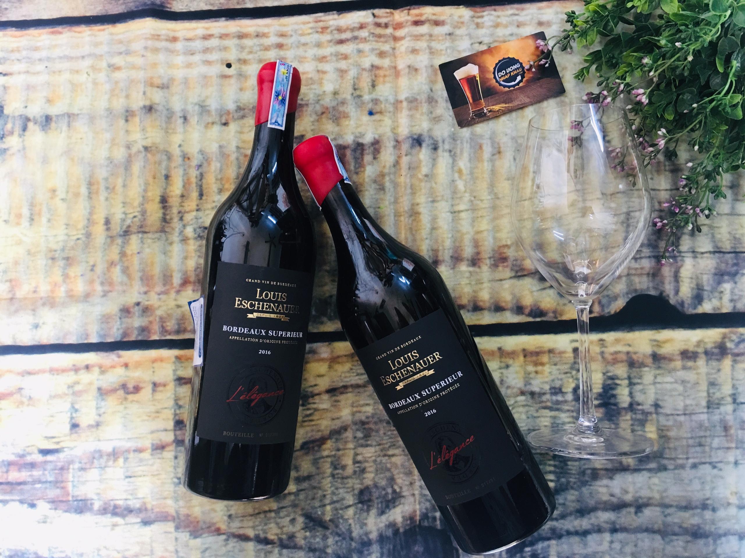 vang Louis Eschenauer L'elegance là chai vang ngon nổi tiếng của hãng LE
