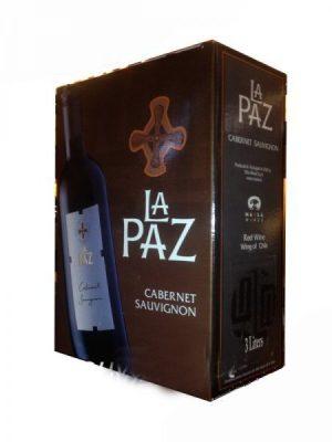 Rượu vang La Paz Carbernet Sauvignon bịch 3 lít