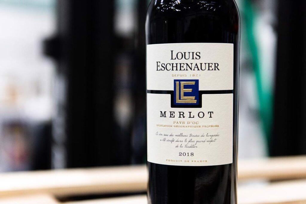 Vang Louis Eschenauer Merlot 2
