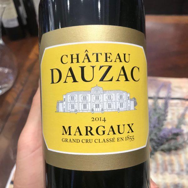 Vang Château Dauzac Margaux