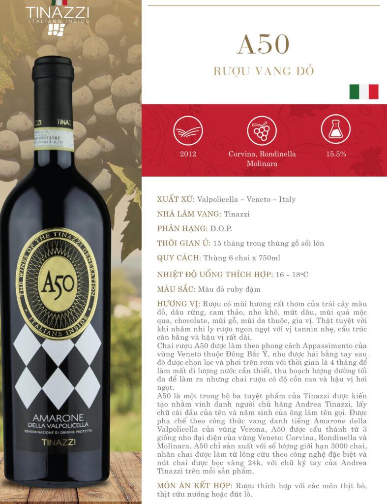 Vang A50 Amarone Della Valpolicella 15.5%