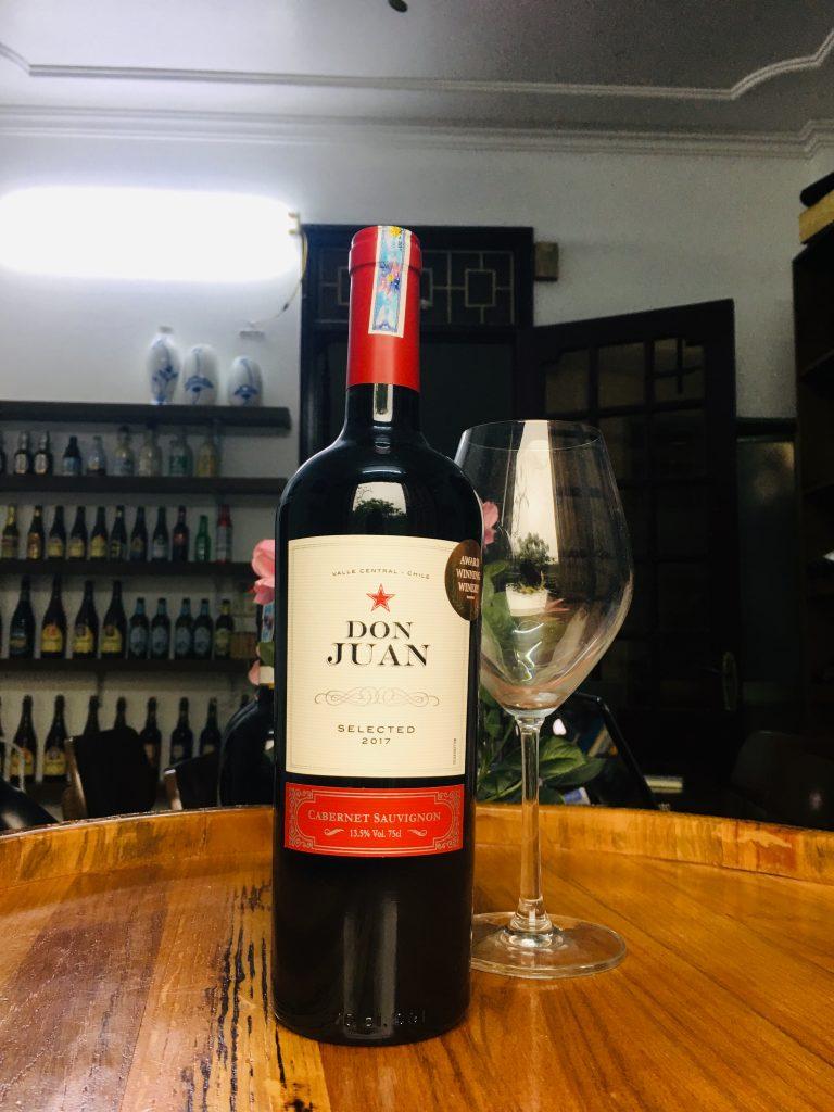 Vang Don Juan Cabernet Sauvignon
