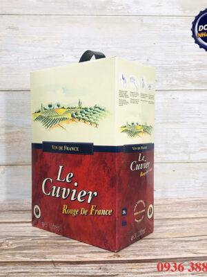 Vang bịch 3L Le Cuvier 12,5%
