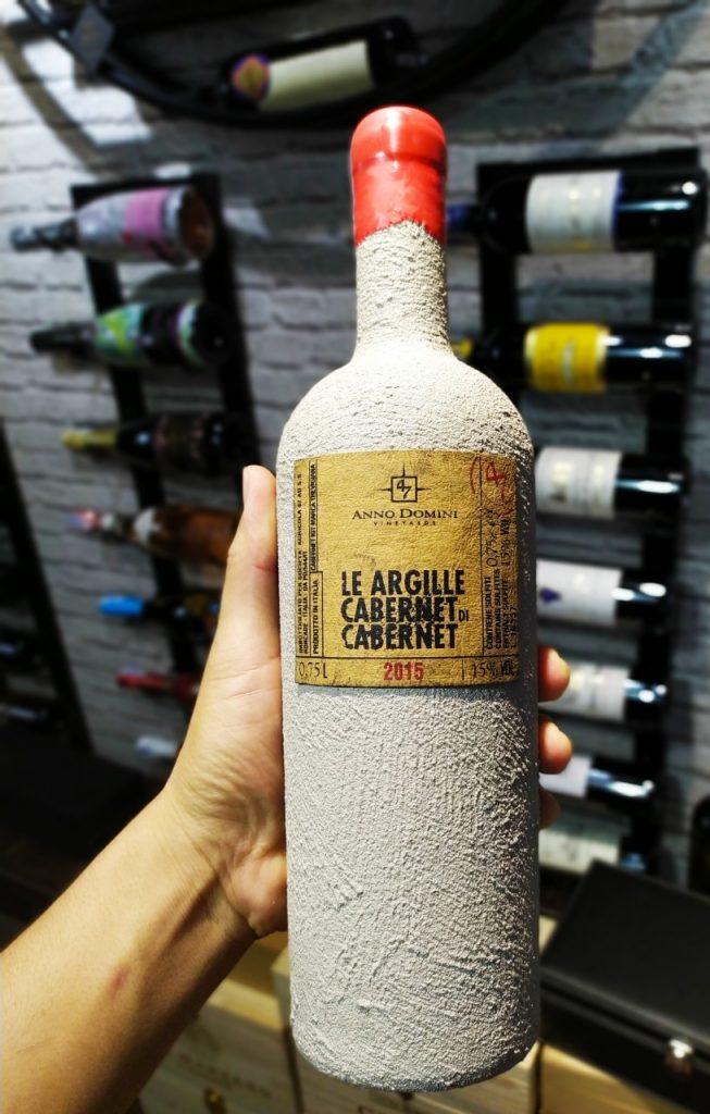 Vang Le Argille Cabernet di cabernet