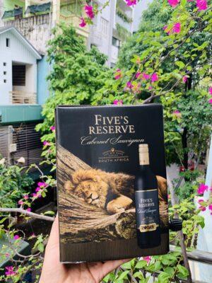 Vang bịch Five Reserve
