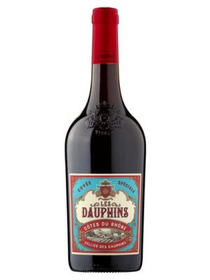Les Dauphins Cotes Du Rhoone Rouge