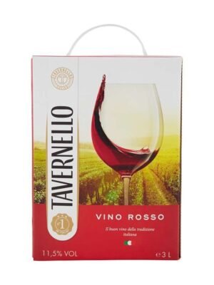 Vang bịch Tavernello Rosso