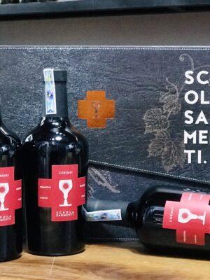 Hộp quà 3 chai vang Corimei