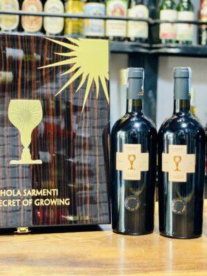 Hộp quà 3 chai vang chén thánh Cubardi