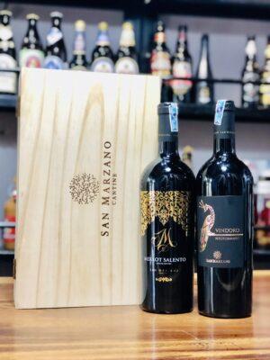 Hộp quà vang Vindoro M
