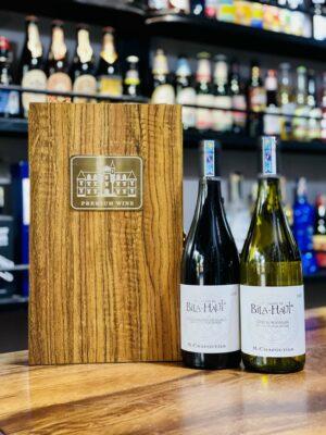 Hộp quà 2 chai vang Pháp Bila-Haut