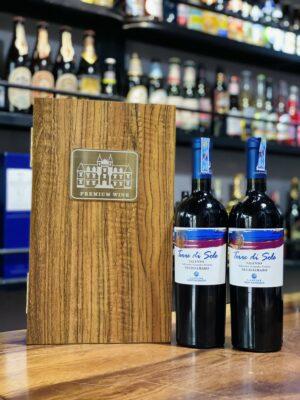 Hộp quà 2 chai vang Ý Terre di Sole