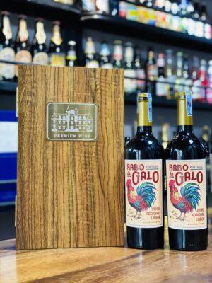 Hộp quà 2 chai vang Bồ Đào Nha Gabo Ralo