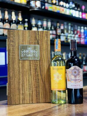 Hộp quà 2 chai vang Ý Stemmari