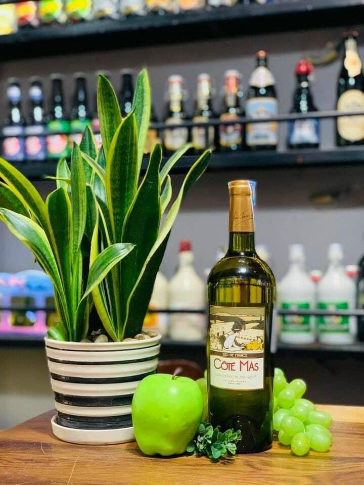 Vang Cote Mas Languedoc Blanc