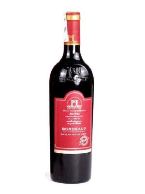 Ảnh vang Raymond Huet Bordeaux élevé en fûts de chêne