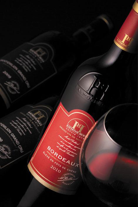 Vang Raymond-Huet Bordeaux élevé en fûts de chêne