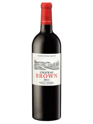 Vang Château Brown Rouge