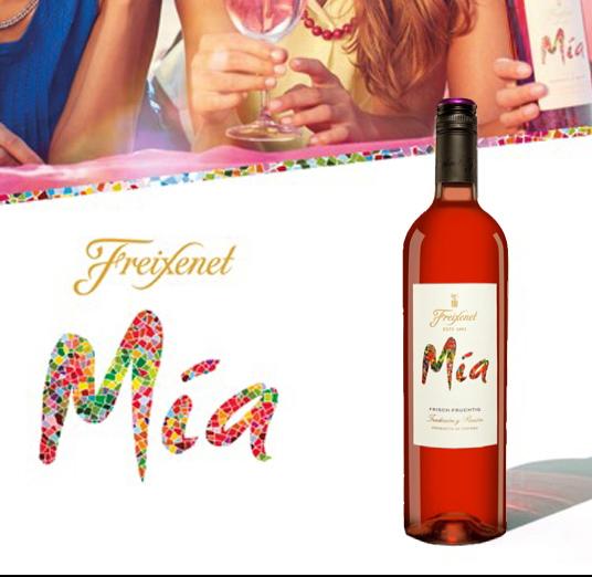 Vang hồng Freixenet Mia Rosado