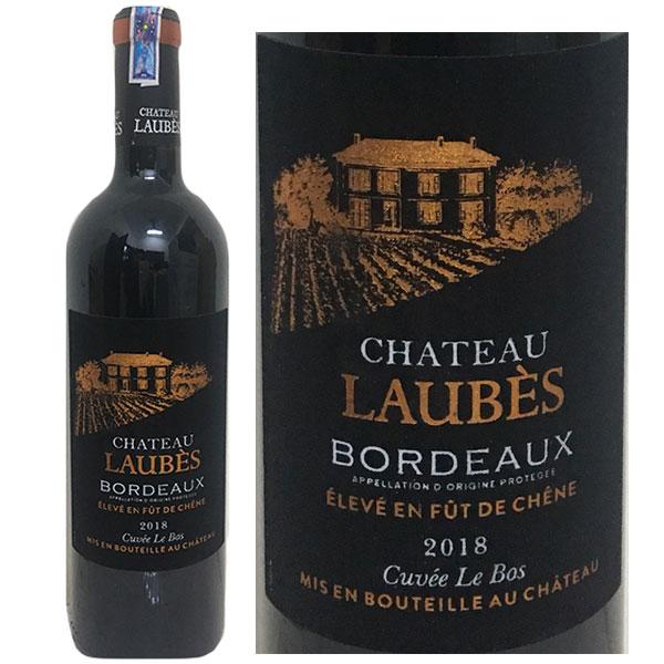 Rượu vang Chateau Laubes tem nhung