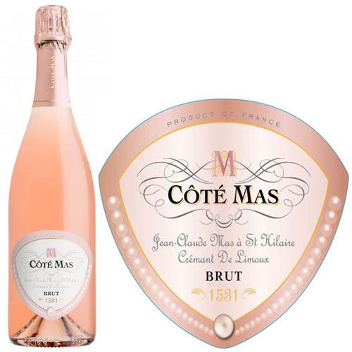 Rượu vang Cote Mas Cremant De Limoux Rose Brut