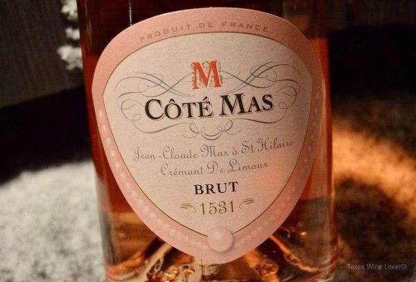 Vang nổ Cote Mas Cremant De Limoux Rose Brut