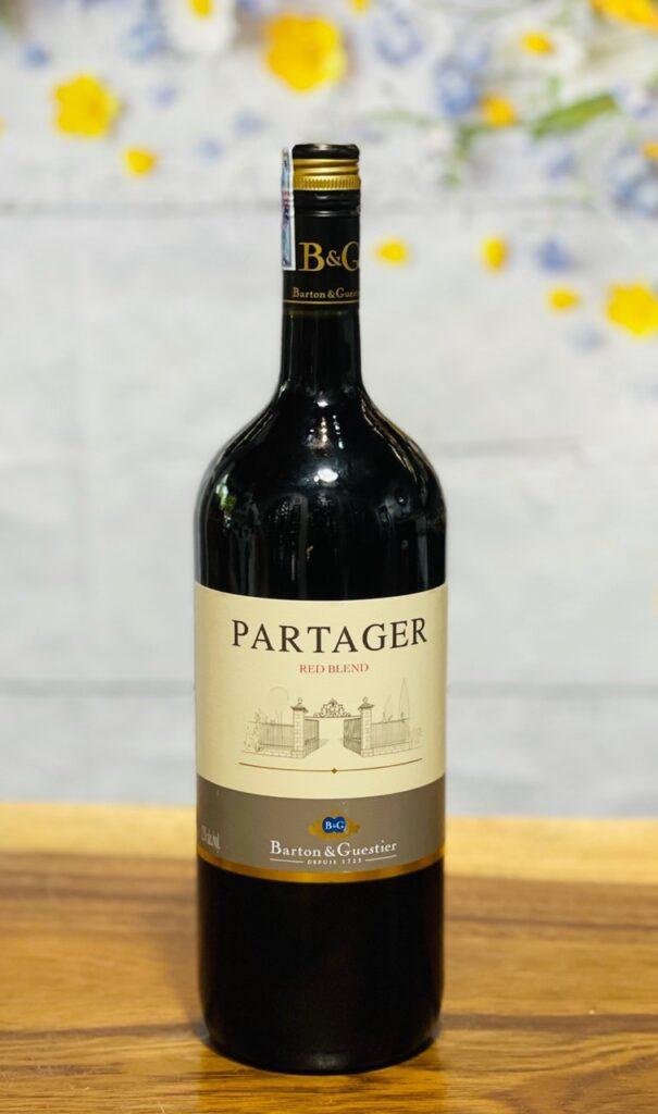 Vang Partager Rouge B&G chai 1.5 lít